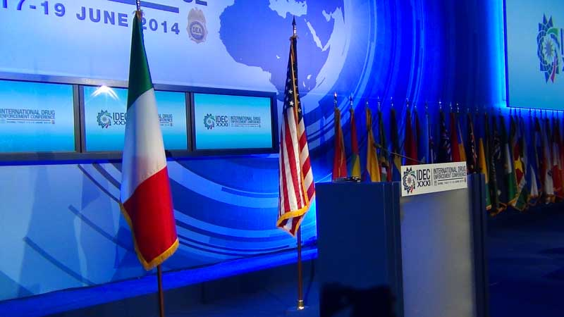XXXI edizione<br/>International Drug Enforcement Conference - Aracne TV