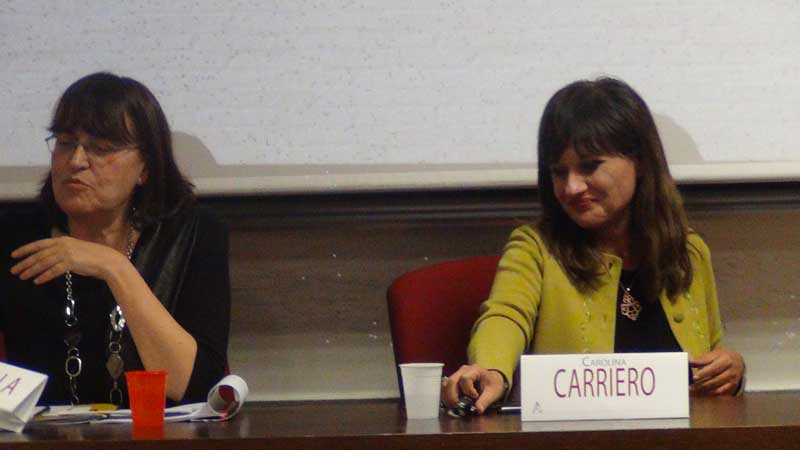 Carolina Carriero, Camilla Cattarulla - Aracne TV