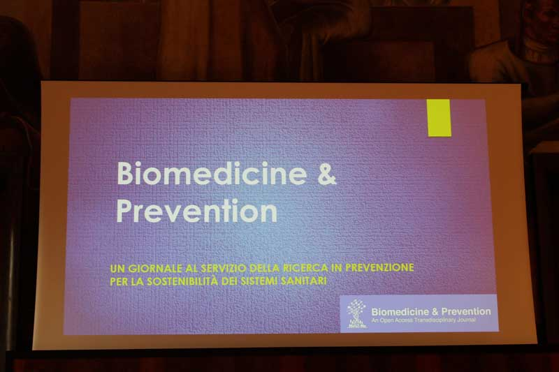 Biomedicine and Prevention<br>An Open Access Transdisciplinary Journal - Aracne TV