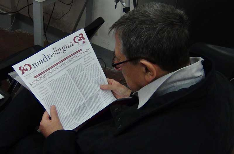 Progetto editoriale Madrelingua - Aracne TV