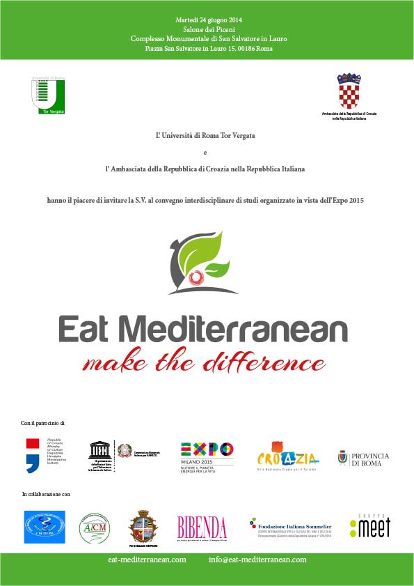 Convegno - Eat Mediterranean, Make the Difference