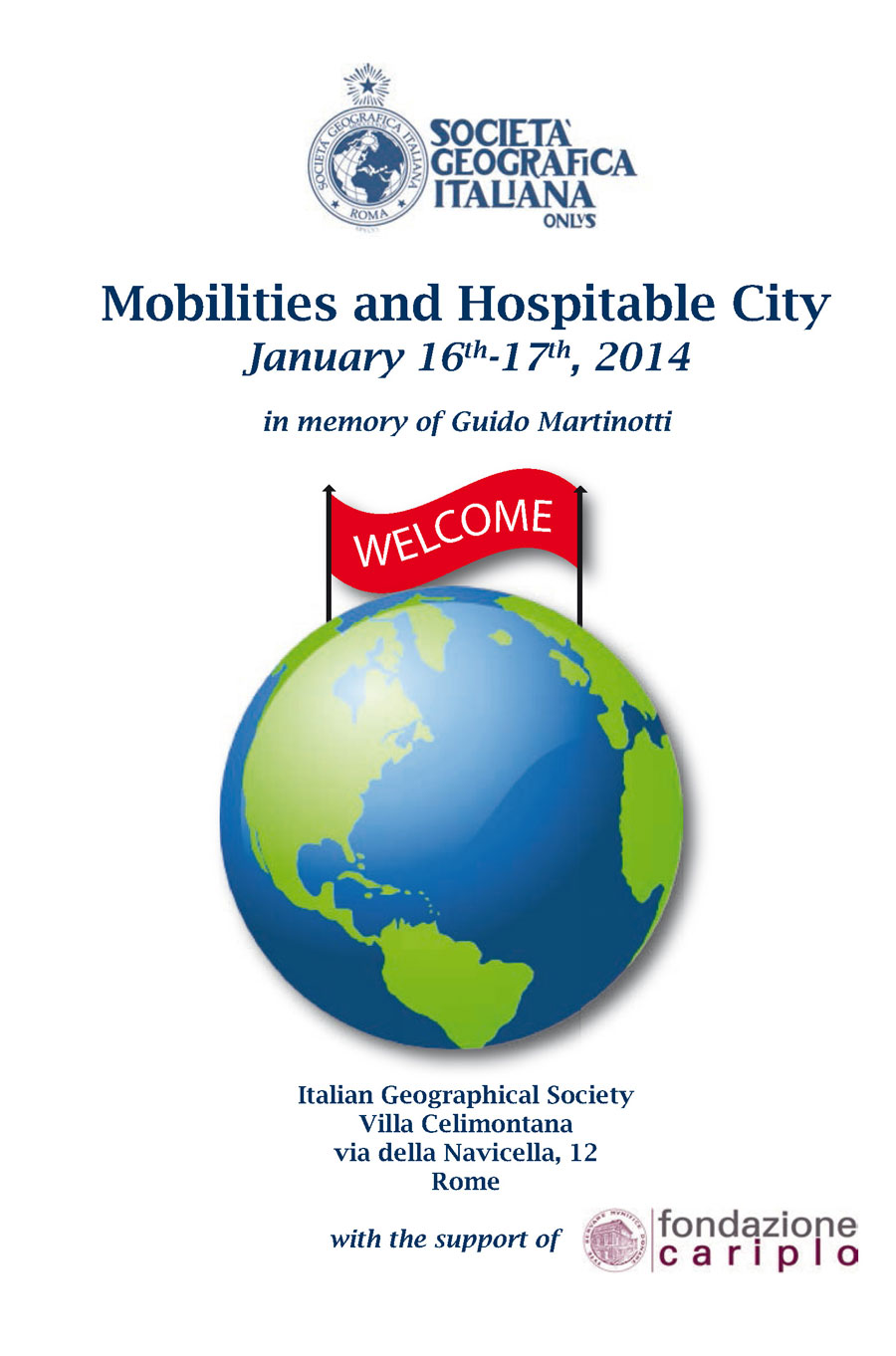 Convegno - Mobilities and Hospitable City